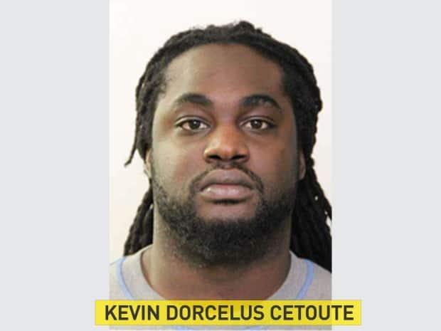 Kevin Dorcelus Cetoute, 27, was arrested on Tuesday by the Alberta Law Enforcement Response Teams. He is among three men accused of human trafficking and sexual assault.
