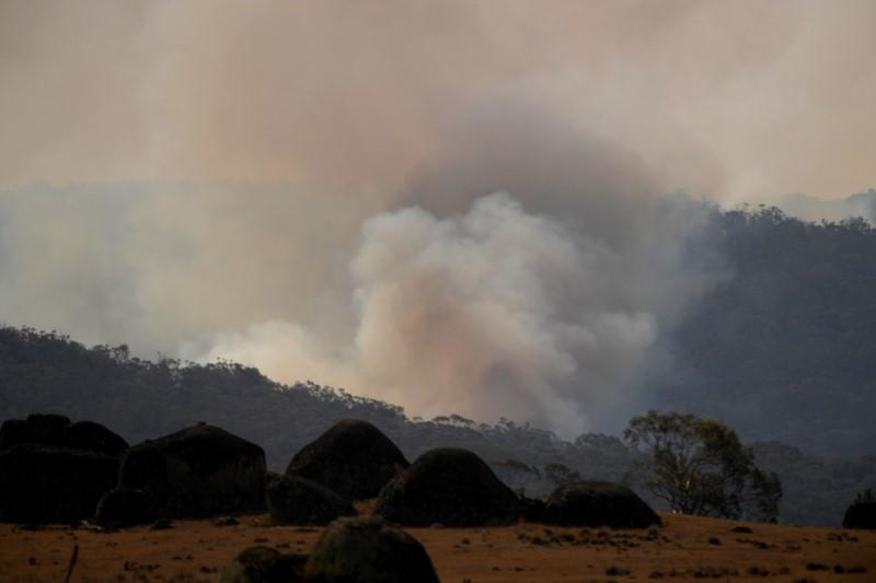 Bushfires in Adaminaby Complex, New South Wales