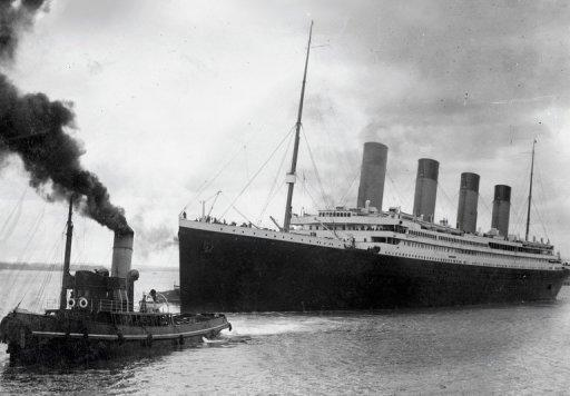 Titanic went down on April 15, 1912 after striking an iceberg on its first voyage, from Southampton to New York