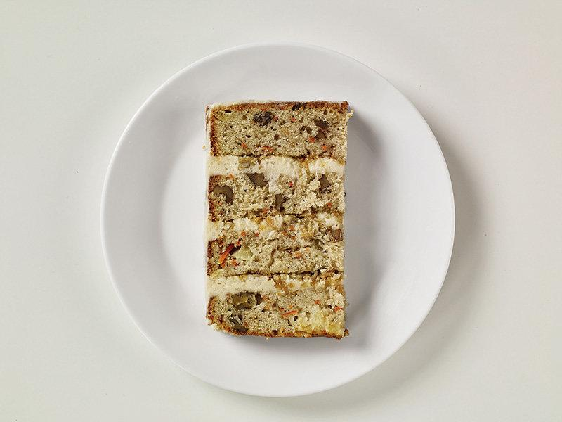 Gardner's carrot cake.  (Heath Robbins)