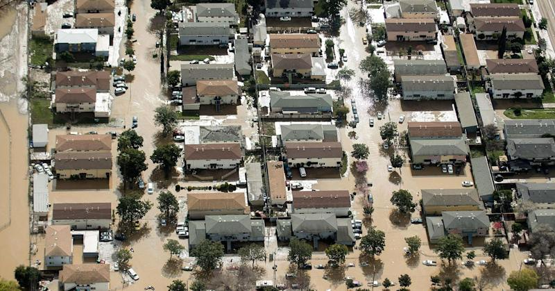 California governor plans to spend nearly $450 million on flood control but says more needed