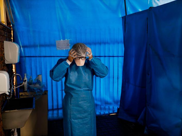 South Africa has seen more than 1.6 million Covid-19 infections to date (AFP via Getty Images)