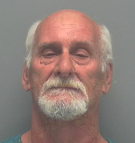 Henry Harvey assaulted another customer after an argument over how long he was taking at a checkout. Source: Lee County Sheriff's Office.