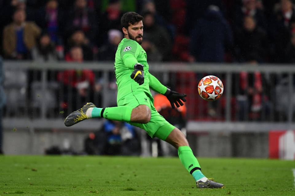 <strong>Alisson</strong> (27 ans) : Liverpool / Brésil.