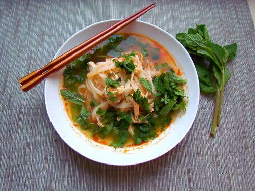"<strong>Get the <a href=""http://food52.com/recipes/20616-thai-red-curry-chicken-soup"" rel=""nofollow noopener"" target=""_blank"" data-ylk=""slk:Thai Red Curry Chicken Soup recipe from Food52"" class=""link rapid-noclick-resp"">Thai Red Curry Chicken Soup recipe from Food52</a></strong>"