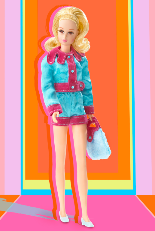 "<p>Barbie's fashion-forward friend <a href=""http://www.thebarbiecollection.com/vintage-looks/smashin-satin-francie-doll-g8049"" rel=""nofollow noopener"" target=""_blank"" data-ylk=""slk:Smashin' Satin Francine"" class=""link rapid-noclick-resp"">Smashin' Satin Francine</a> stuns in hot pants and a flip. </p><p><a href=""http://www.goodhousekeeping.com/beauty/g2495/seventies-beauty-trends-back-2015/"" rel=""nofollow noopener"" target=""_blank"" data-ylk=""slk:10 '70s trends that came back »"" class=""link rapid-noclick-resp""><em>10 '70s trends that came back »</em></a></p>"