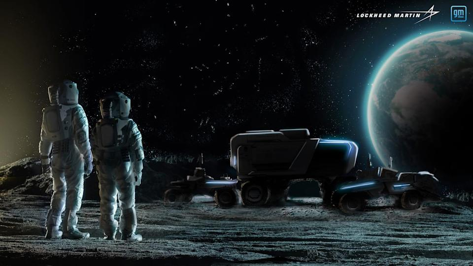 GM to help develop next generation lunar rovers for NASA
