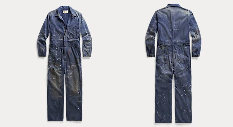 The overalls, photographed, come with a £620 price tag. (Ralph Lauren)