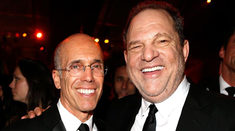 Jeffrey Katzenberg Admonishes Harvey Weinstein: 'You've Done Terrible Things'