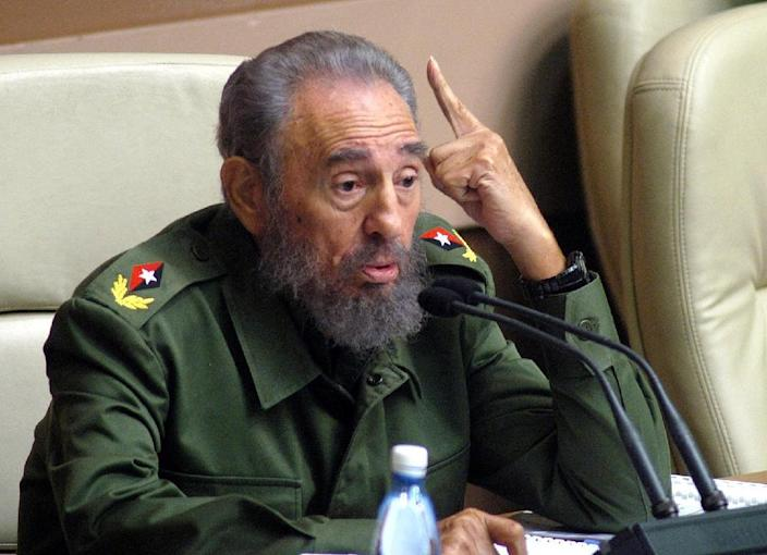 One of the world's longest-serving rulers and among modern history's most striking personalities, Castro survived 11 US administrations and hundreds of assassination attempts (AFP Photo/Antonio Levi)