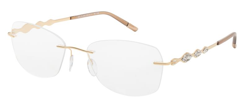 d076639c4fb0 Silhouette combines jewelry and eyewear in Swarovski crystal frames