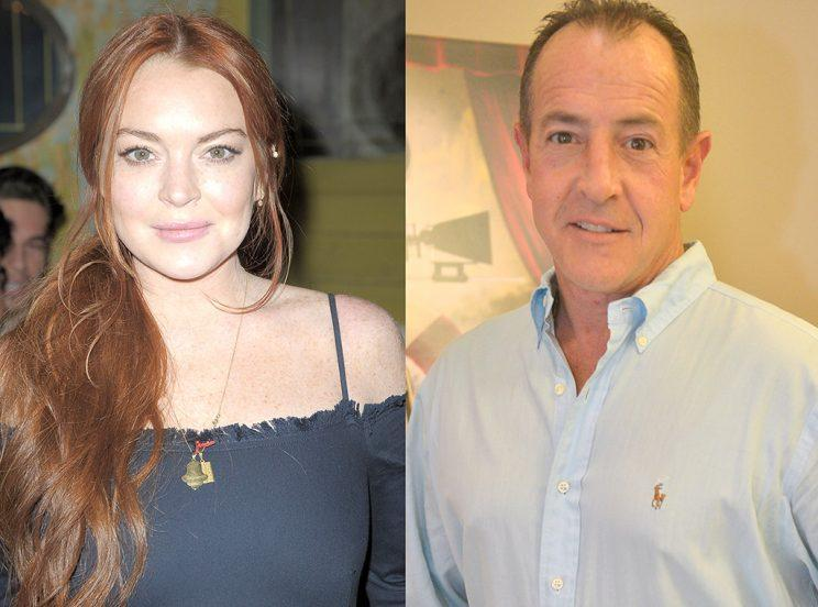Lindsay Lohan and her dad, Michael Lohan, have had a rocky road. (Photo: Getty Images)