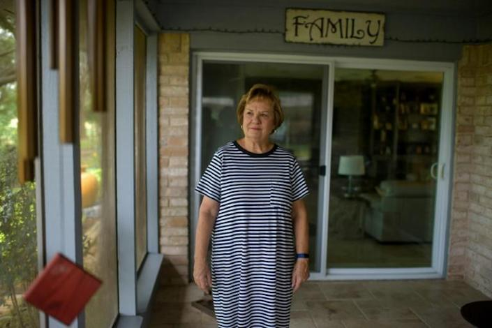 Debbie Akeroyd is a staunch Republican -- she and her husband will vote for Donald Trump