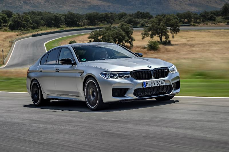 BMW M5 Competition Launched at Rs 1.54 Crore in India