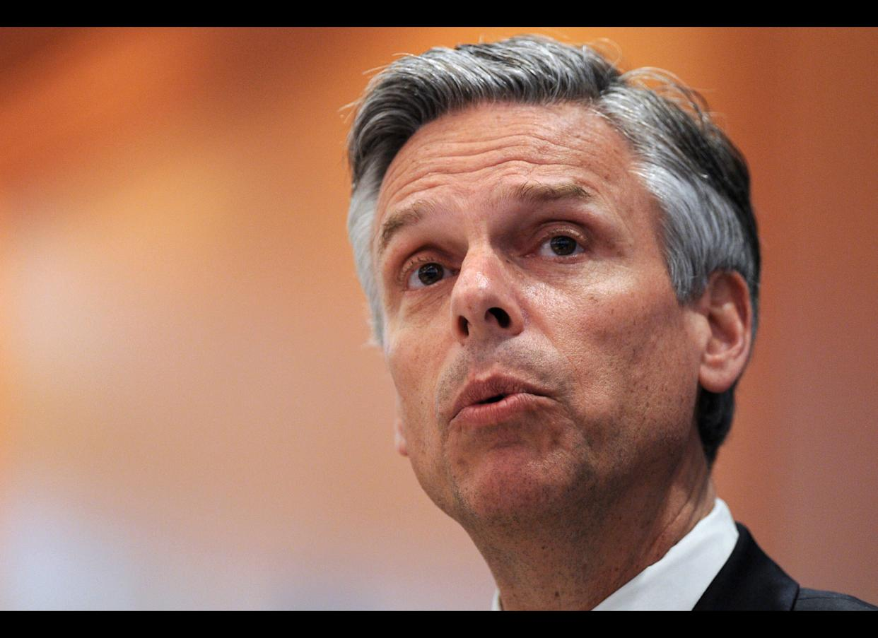 """The former Utah governor has strong hands-on foreign relations credentials, having recently resigned as the Obama-appointed U.S. <a href=""""http://www.huffingtonpost.com/2011/01/01/jon-huntsman-2012-president_n_803205.html"""" rel=""""nofollow noopener"""" target=""""_blank"""" data-ylk=""""slk:Ambassador"""" class=""""link rapid-noclick-resp"""">Ambassador</a> to China. He has <a href=""""http://www.esquire.com/blogs/politics/gop-2012-candidates-foreign-policy-5508111"""" rel=""""nofollow noopener"""" target=""""_blank"""" data-ylk=""""slk:said"""" class=""""link rapid-noclick-resp"""">said</a> he wants to move foreign policy forward by easing tensions with Asian nations such as North Korea."""