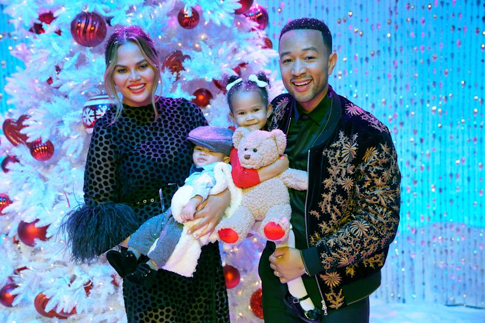 John Legend has revealed his daughter, Luna, might not believe in Santa [Photo: Getty]