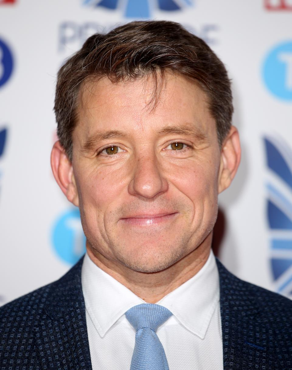 Ben Shephard attending the Pride of Sport Awards 2019 held in London.