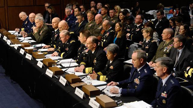 Top Military Officers Resist Proposal to Take Sexual Assault Cases Out of Chain of Command