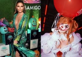 Halloween 2019: From JLo's Versace dress to Pennywise the clown, celebs serve costume inspiration