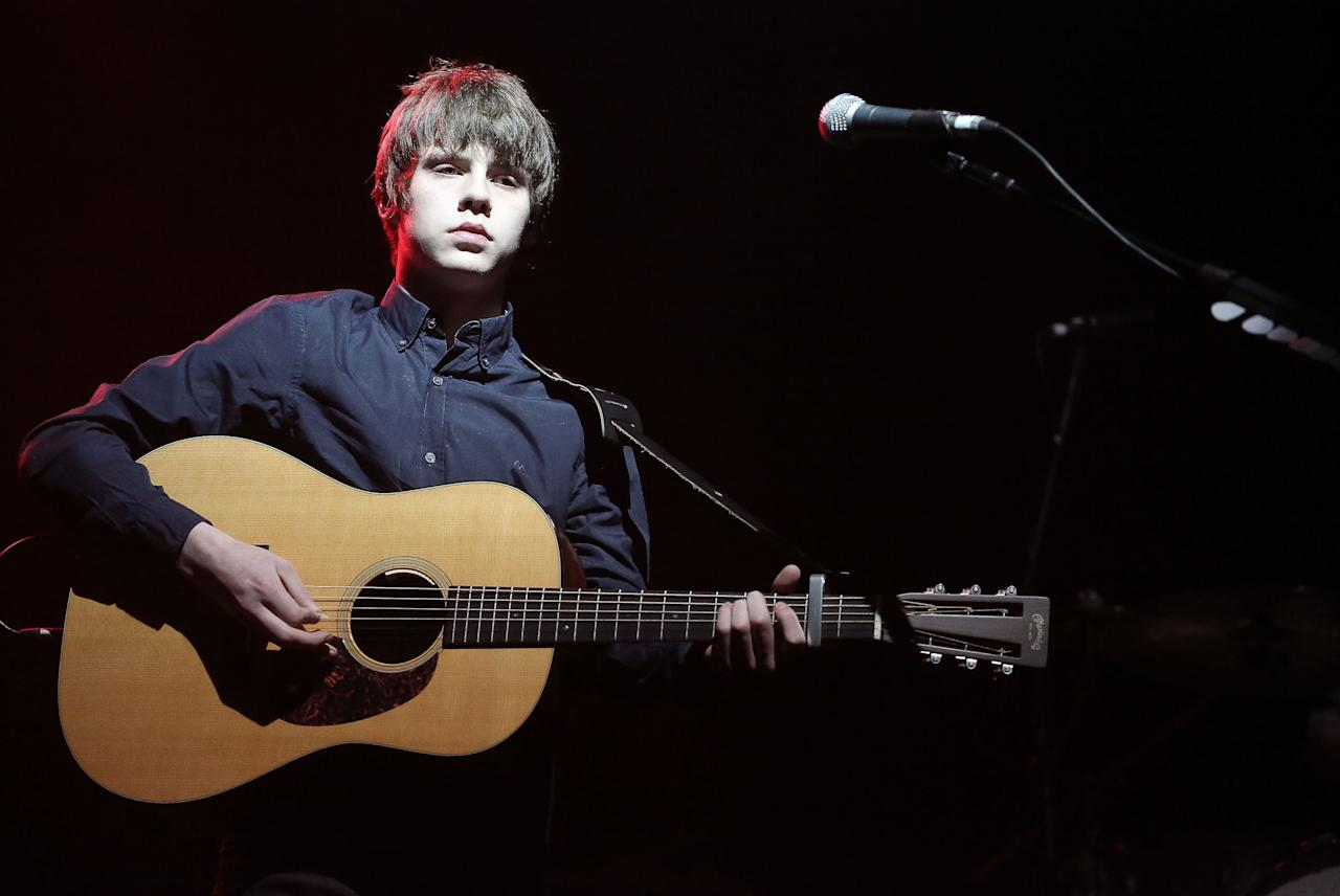 Jake Bugg - Jake Bugg Already drawing comparisons to Bob Dylan and idols Donovan and Alex Turner of Arctic Monkeys, 18-year-old Jake Bugg shows great promise. The Nottingham troubadour's raw, rootsy eponymous debut is inventive and showcases his undoubted potential. Two Fingers has a Merseybeat sound, Country Song is short but most definitely sweet, while the emotional Broken is another highlight. Throw in critically acclaimed first single Lightning Bolt and this is one Bugg you won't mind picking up this winter (Rex Features)