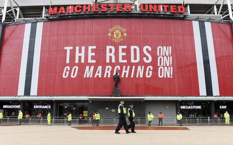 Man Utd fear fans targeting team hotel and bus in effort to get Liverpool game called off again - SHUTTERSHOCK