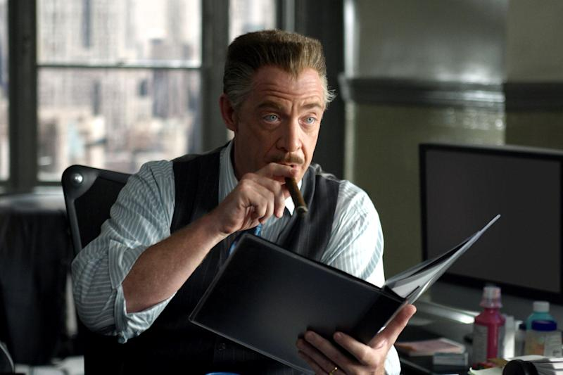 J.K. Simmons as J. Jonah Jameson in 'Spider-Man 2' a role he reprises in 'Far From Home' (Photo: Columbia/courtesy Everett)