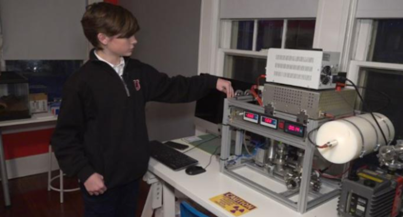 14-year-old American Boy Creates Nuclear Fusion Reactor at his Bedroom with Parts Ordered Online Via eBay