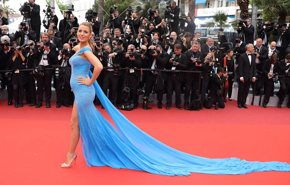 Blake Lively at 69th annual Cannes Film Festival in 2016.
