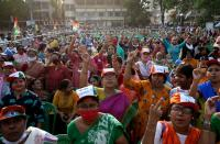 FILE PHOTO: Election campaign rally ahead the forth phase of the state election, in Kolkata