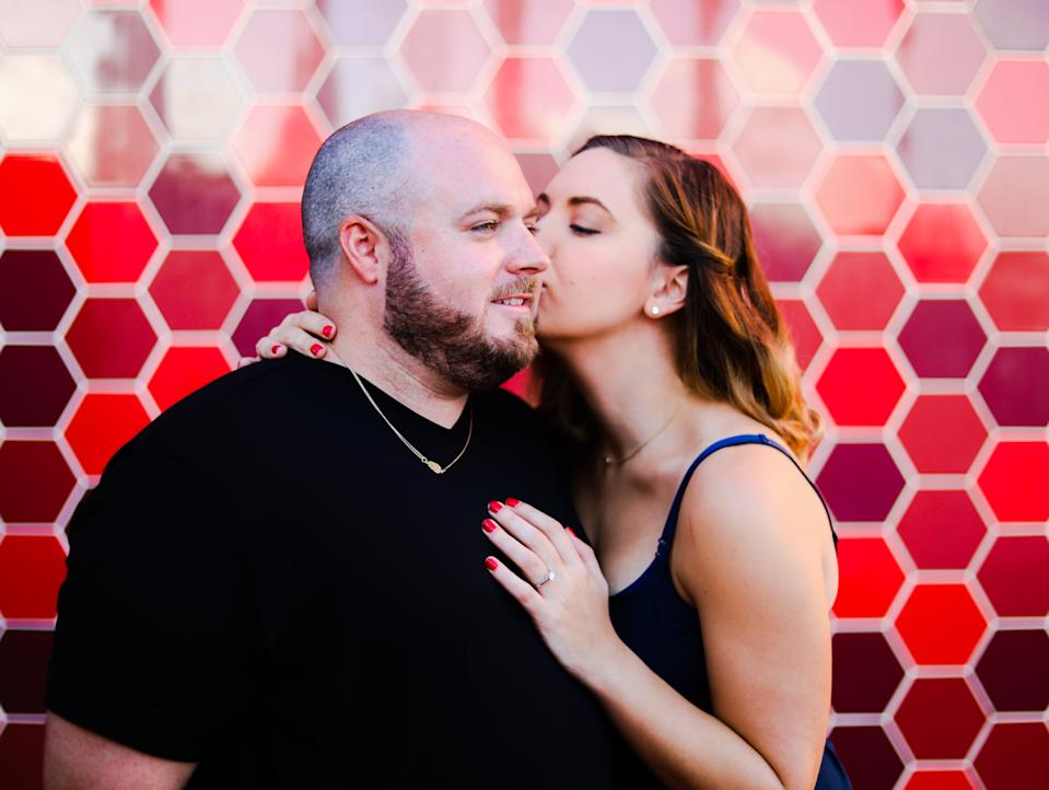 Courtney Armstong and her fiancé Pete Petersen were able to seamlessly shift their April 2020 wedding to June 2020 due to concerns over Covid-19. (Photo from Courtney Armstrong)