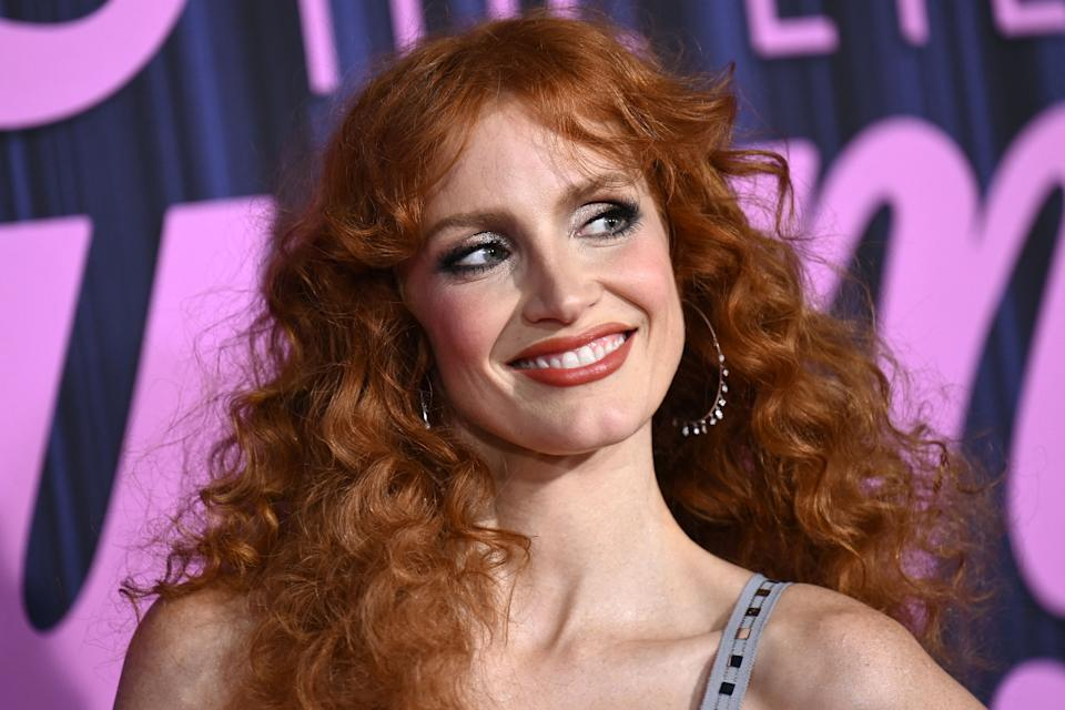 US actress Jessica Chastain attends