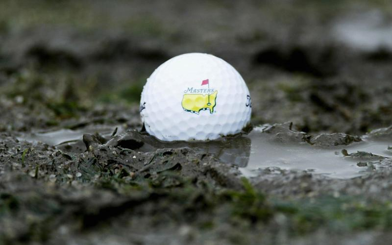 The weather could affect the schedule at Augusta