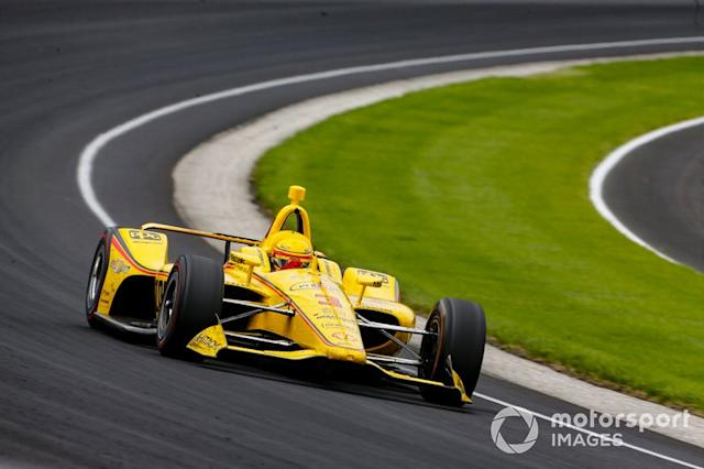 "Helio Castroneves, Team Penske Chevrolet <span class=""copyright"">Phillip Abbott / LAT Photo USA</span>"