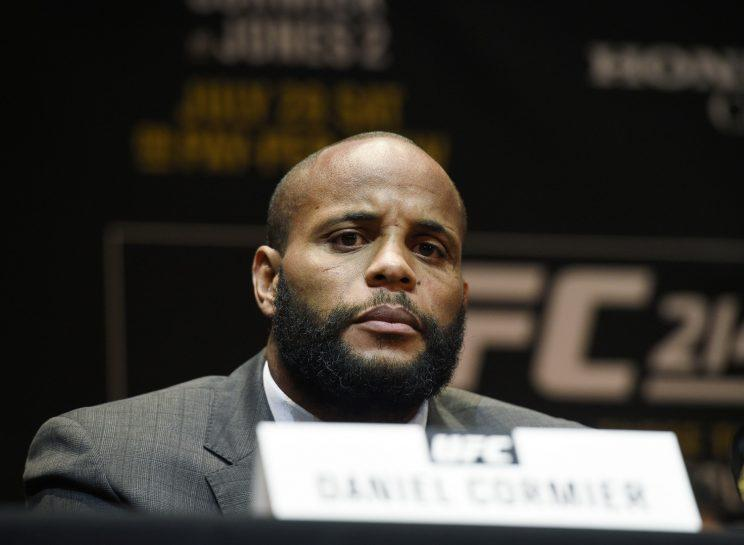 Daniel Cormier has a lot to prove on Saturday against Jon Jones at UFC 214. (Getty)