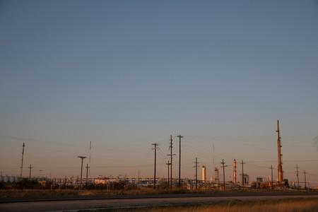 A general view of a refinery in Hobbs