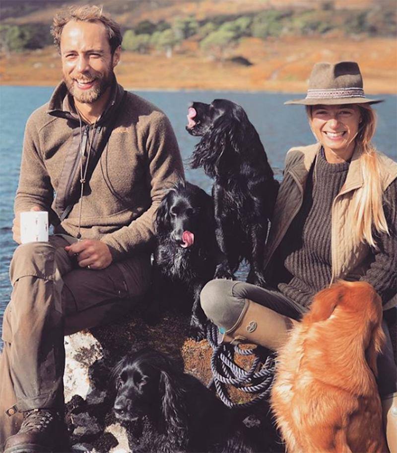 James Middleton Shares 'First Family Photo' and Thanks Fans for 'Incredible Support'