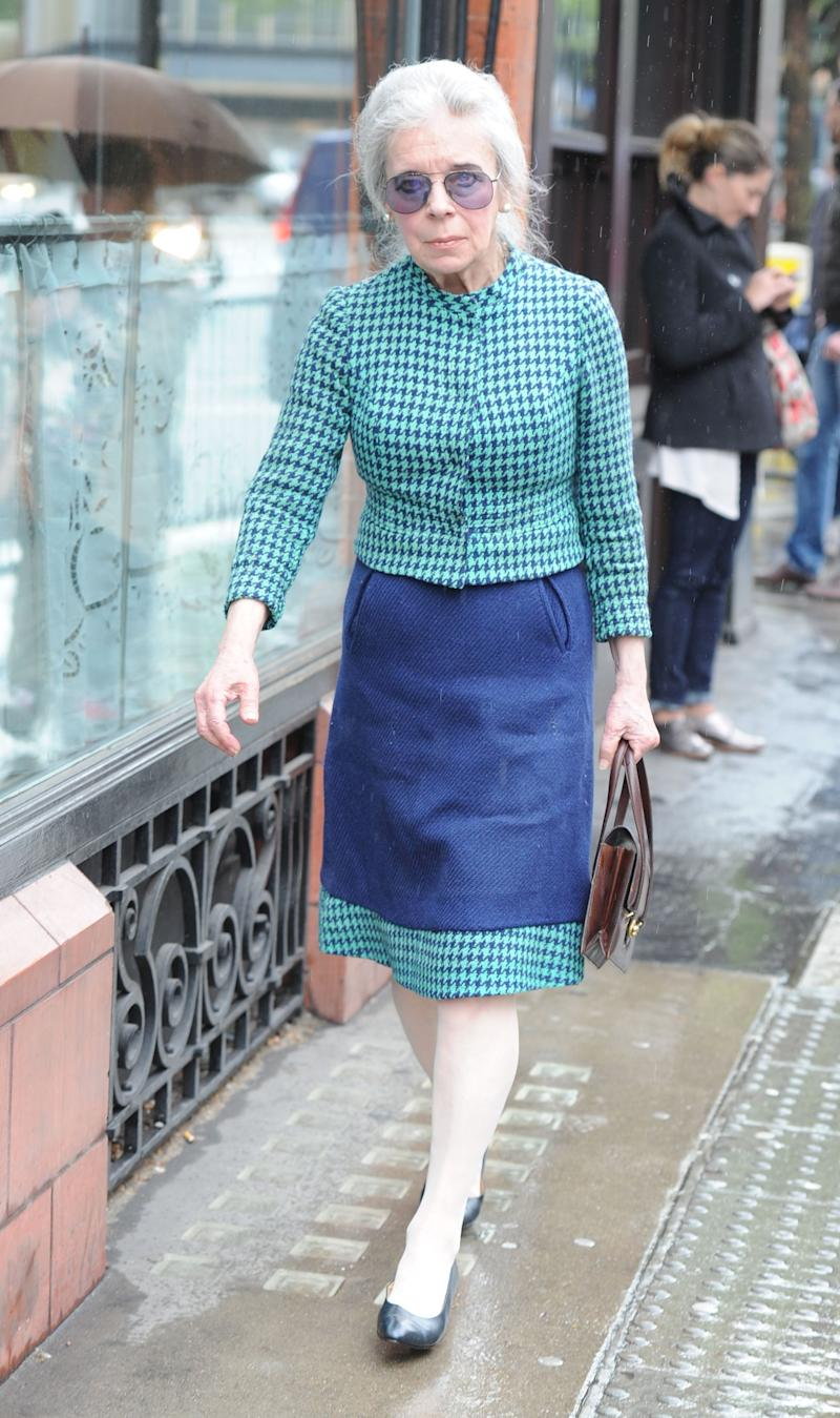 Lady Lucan, potographed in Sloane Square, in May 2014 - Credit: Georgie Gillard/ANL/REX/Shutterstock