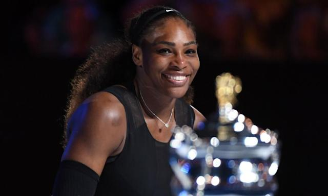 "<span class=""element-image__caption"">Serena Williams won her 23rd major singles title at the Australian Open in January.</span> <span class=""element-image__credit"">Photograph: William West/AFP/Getty Images</span>"