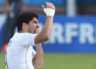 How will Uruguay fare against Colombia without Luis Suarez? (AFP)