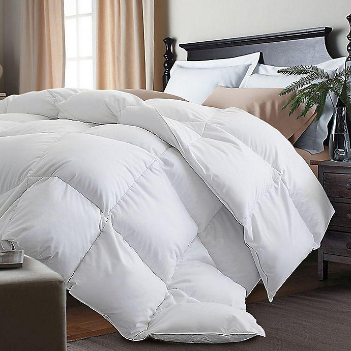 "<h2>Kathy Ireland Goose Feather Down Comforter</h2><br>Wake up feeling chilly every morning? Let's put that to rest, <em>literally</em>. Layer your bed in luxury with this heavyweight down comforter, filled with goose feathers and cozy comfort. It looks equally as good by itself, or inside a <a href=""https://www.refinery29.com/en-us/stylish-bedding-online"" rel=""nofollow noopener"" target=""_blank"" data-ylk=""slk:chic duvet"" class=""link rapid-noclick-resp"">chic duvet</a>. <br><br><strong>The Hype:</strong> 4.3 out of 5 stars and 737 reviews on <a href=""https://fave.co/38icbmt"" rel=""nofollow noopener"" target=""_blank"" data-ylk=""slk:Bed, Bath & Beyond"" class=""link rapid-noclick-resp"">Bed, Bath & Beyond</a><br><br><strong>Comfort Seekers Say:</strong> ""I've spent hundreds of dollars on king goose down comforters. This one is as nice or better for 25% of what I've spent in the past! I'm going to buy an extra one."" –– <em>Rose, Bed Bath & Beyond Reviewer</em><br><br><strong>Kathy Ireland</strong> White Goose Feather Down Comforter, $, available at <a href=""https://go.skimresources.com/?id=30283X879131&url=https%3A%2F%2Ffave.co%2F38icbmt"" rel=""nofollow noopener"" target=""_blank"" data-ylk=""slk:Bed Bath and Beyond"" class=""link rapid-noclick-resp"">Bed Bath and Beyond</a>"