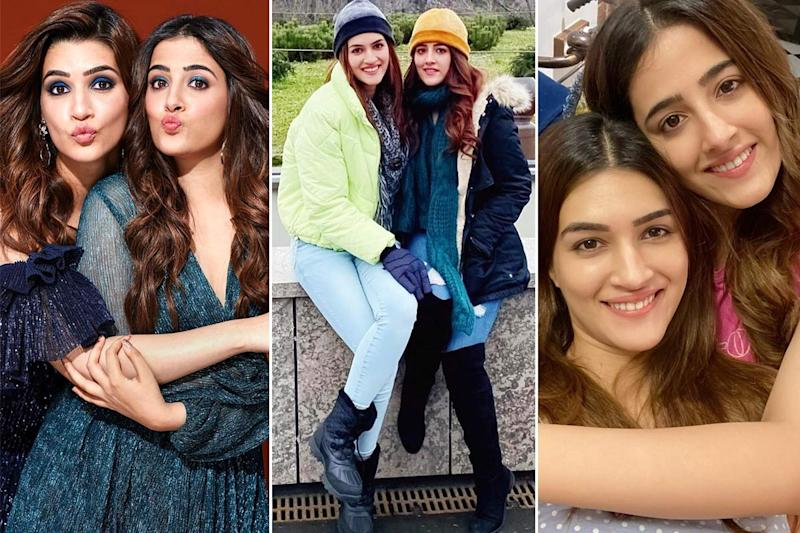 Most Fashionable Sisters of Bollywood - Kriti Sanon and Nupur Sanon