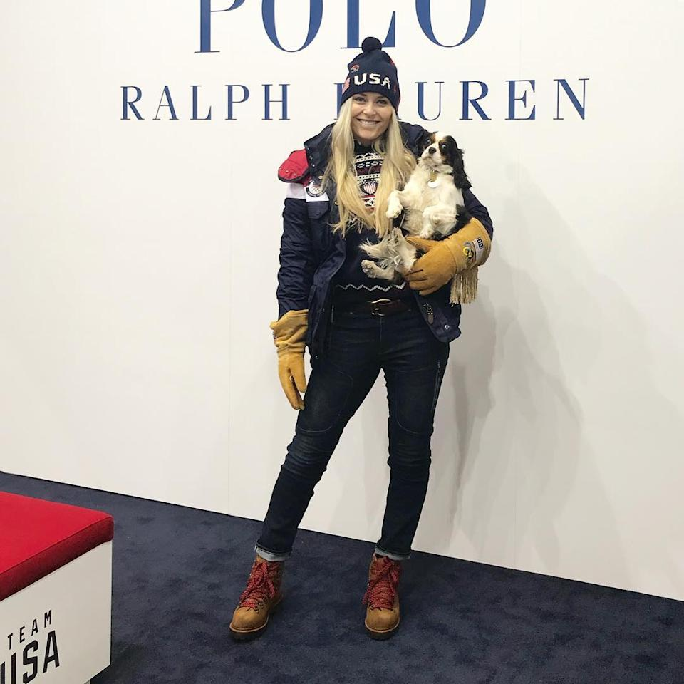 <p>Lindsey Vonn, USA skier: Well, we made it to Korea!!! After 6 hours on the tarmac before takeoff and a total of 24 hours of travel we are finally here hustled over to team processing where the whole staff was waiting since I was the last athlete to come through. THANKS GUYS!! Can't wait for the opening ceremonies tomorrow!!. (Photo via Instagram/lindseyvonn) </p>