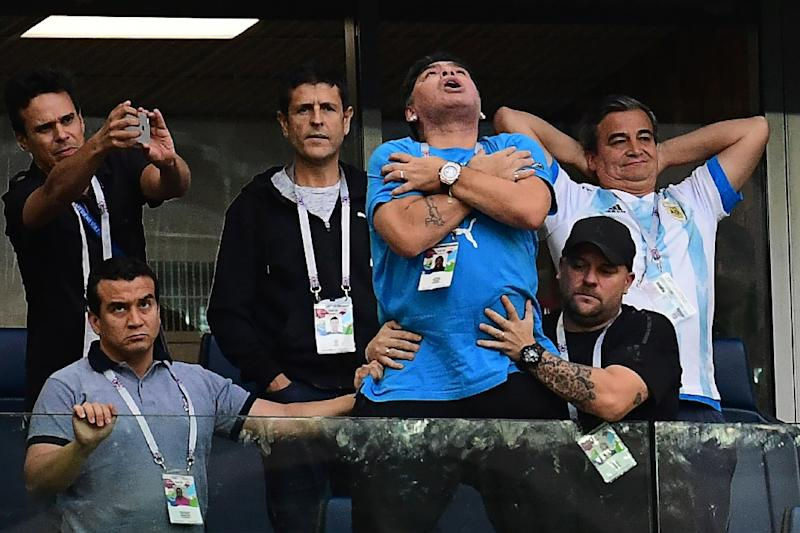 Maradona Drama Is A Problem For Argentina And Messi