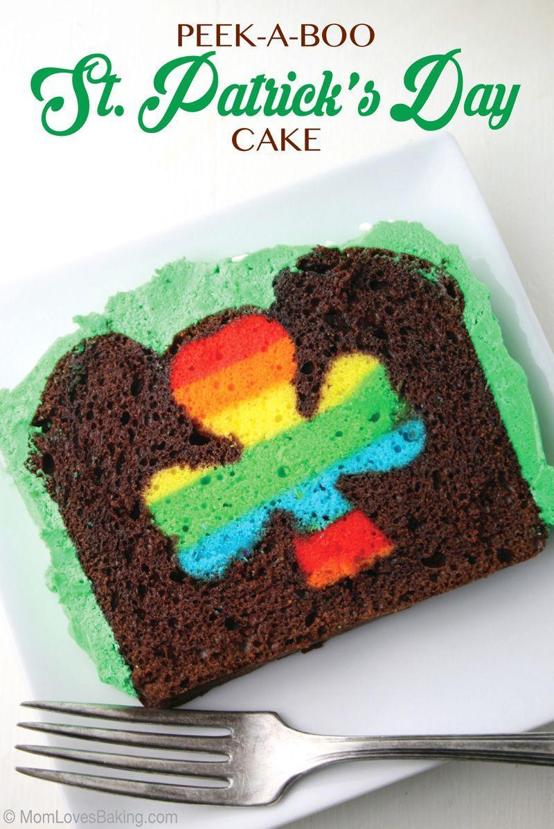"<p>Treat your party guests to a sweet surprise one they slice open this chocolate cake. </p><p><a href=""https://www.momlovesbaking.com/peek-a-boo-st-patricks-day-cake/"" rel=""nofollow noopener"" target=""_blank"" data-ylk=""slk:Get the recipe from Mom Loves Baking »"" class=""link rapid-noclick-resp""><em>Get the recipe from Mom Loves Baking »</em></a></p>"