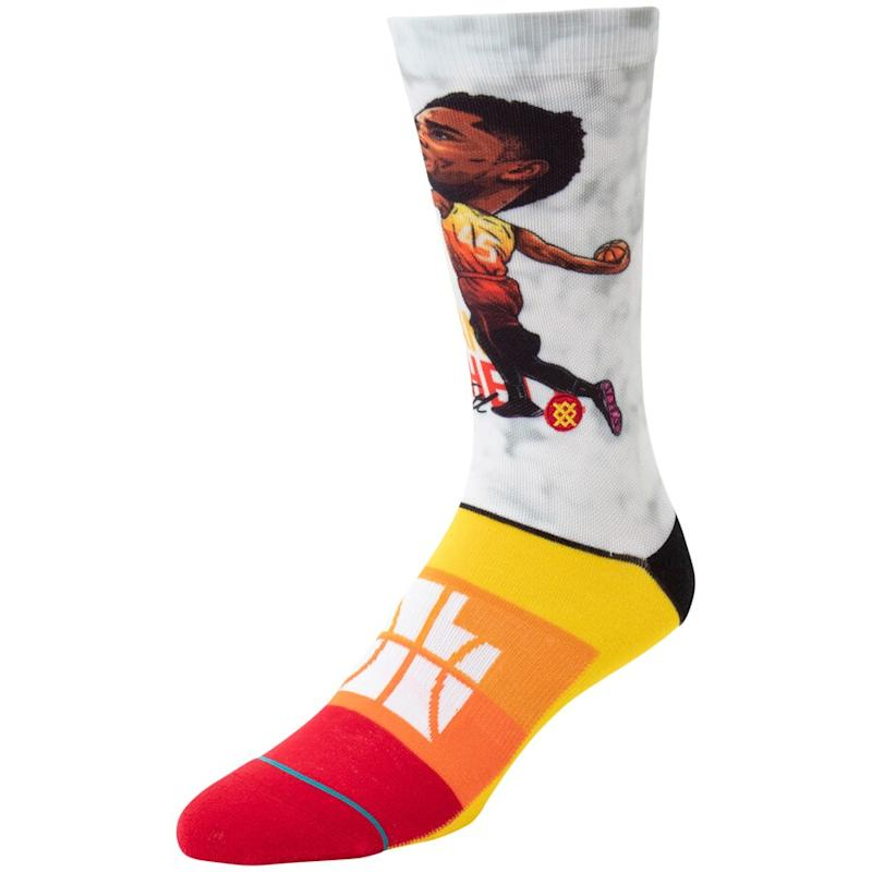 Donovan Mitchell Jazz Crew Socks