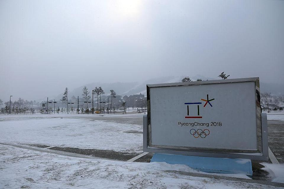 The Pyeongchang Winter Olympic Games, held in a mountainous region of South Korea, will open in February 2018. (Getty)