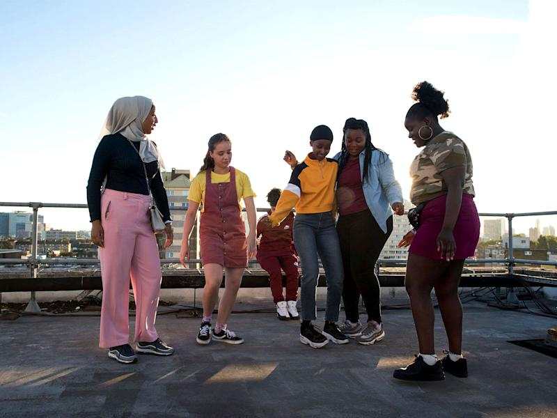 'Rocks' tells the story of teenage girls growing up in east LondonFable Pictures