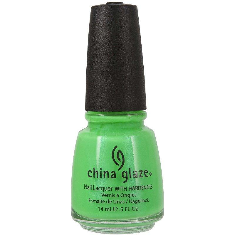 China Glaze's dozens of colors are always affordable and, it turns out, always keeping your best interests in mind with a seven-free formula. Every fun color, like In the Limelight (seen here), contains kaolin clay as unique means of hardening color for a chip-free finish.