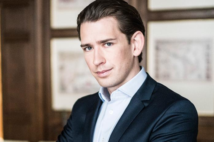 Sebastian Kurz, leader of the conservative People's Party