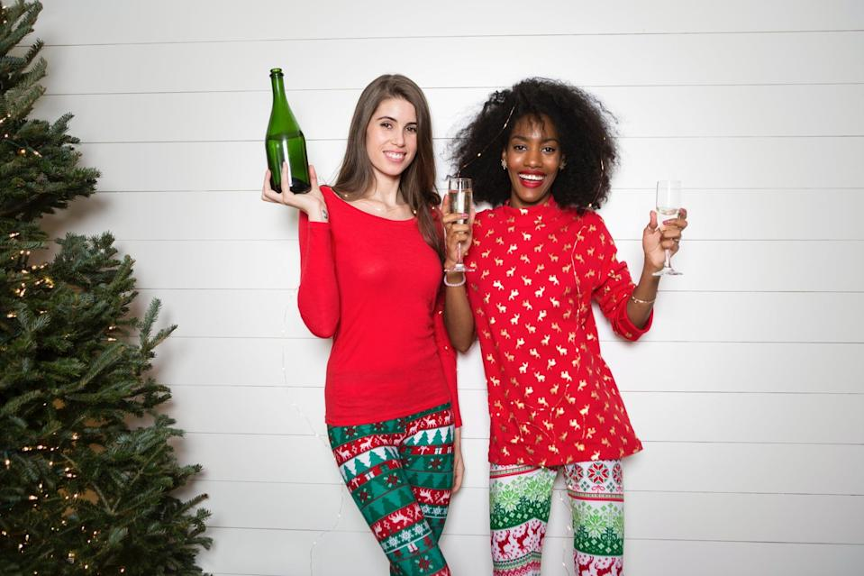 """<p>Yes, the holidays are technically over, but there's no rule saying you have to stop wearing your <a href=""""https://www.popsugar.com/fashion/Ugly-Christmas-Sweaters-32410225"""" class=""""link rapid-noclick-resp"""" rel=""""nofollow noopener"""" target=""""_blank"""" data-ylk=""""slk:ugly Christmas sweater"""">ugly Christmas sweater</a> or a specific date declaring that your decorations <em>have</em> to come down. Take advantage of your house already being in a festive mood and throw another holiday-themed party! Christmas isn't over until you say it is.</p>"""